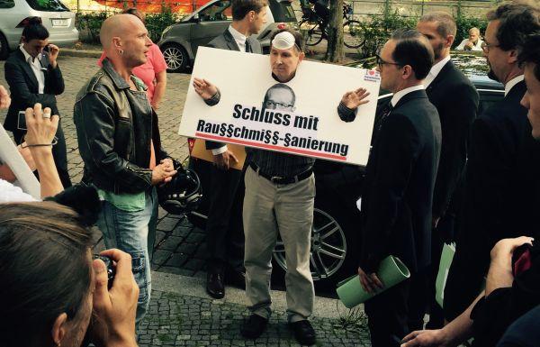 Mieter-Protest am Hansa-Ufer 5 in Berlin (Foto: Matthias Coers)